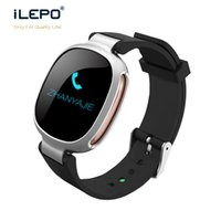 Sport IP67 wasserdicht Smart Watch E08 mit runden OLED lange Standby-7 Tage Sport Datenspeicher Fitness Tracking Armbanduhr
