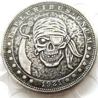 d9ea15f2f Wholesale arts skeletons for sale - HB US Hobo Morgan Dollar Skull Zombie  Skeleton Hand Carved