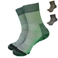 ingrosso illuminazione australiana-1 paio Australia buona qualità 55% lana merino spessa calza leggera da uomo, calze da donna 3 colori