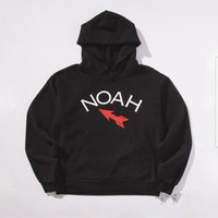 Wholesale Footing Design - noah clothing classic winged foot design Streetwear Palace Skateboards Pullover hoodie