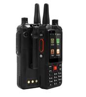Wholesale Digital Walkie - Original 3G WCDMA IP68 F22 Waterproof Smartphone Walkie Talkie GPS Wifi Dual SIM Phone 5MP Zello Walkie Talk Android IP68 Rugged Smartphone