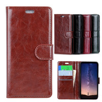 Wholesale acer liquid covers for sale - Group buy PU Leather Case for Google Pixel NOKIA ASUS Zenfone ZA550KL ZB601KL ACER Liquid Z6 BQ Aquaris C X2 Kickstand Flip Cover Phone Cases