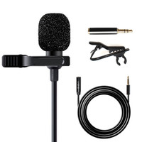 ingrosso clip mic del cardino-Maono AU-403 Microfono Lavalier con cavo di prolunga da 20 piedi Risvolto Mic Handsfree Clip-on per iPhone, Android, Smartphone, DSLR Cam
