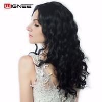 ingrosso capelli corpo media lunghezza media-Wignee 18