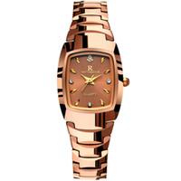Wholesale Tungsten Watch Diamond - Ultra Thin Diamond Women Watch Luxury Brand Stainless steel Lady Fashion Watch Student Wristwatches Waterproof Quartz Womens Watches