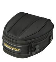 cubierta del asiento trasero de la motocicleta al por mayor-Bolsos de cola de motocicleta / asiento trasero de la bolsa de coche / paquete de carretera de montar Parte de la bolsa de envío de cubierta impermeable