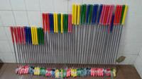 gummischwellen großhandel-Bunter Griffgummikopf des Stahlschafts der hohen Qualität 12pcs scherzt Minigolfputter