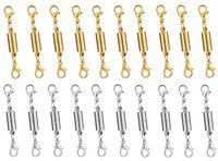 magnetische armbänder halsketten großhandel-Freies Verschiffen gerade bilaterales Karabinerhakenarmband mit magnetischer Schnalle DIY Halskettenwölbungszusatzgroßverkauf