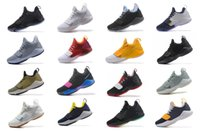 Wholesale home boots - Paul George PG1 Men Basketball Shoes Athletics Sneakers PG 1 Los Angeles Home Sport Outdoor Boots Size 7-12 High Quality