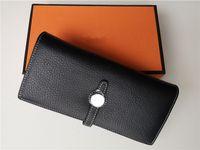 handy-kupplung geldbörse großhandel-Neue 2020 Luxus Brieftasche Frauen Handtasche Reisepass Echtes Leder Handy Brieftasche Geldbörse mode frauen handtaschen H designer Brieftaschen