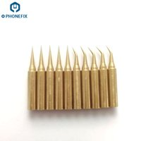 Wholesale Temperature Solder Iron - FIXPHONE High quality 900M-T-I-S Pure Copper Low Temperature Soldering Iron Solder Tips Station Tool Iron Tips For Circuit Board Repair