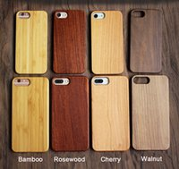 iphone 5s covers wood Australia - Gorgeous Universal Wood Cell phone Cases For Iphone 6 6s 7 8 plus X 5 5S SE Popular anti-shock Bamboo Wooden Hard Cover For Samsung Galaxy