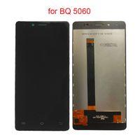 сенсорный экран дисплея lcd телефона оптовых-For BQ BQS 5060 LCD Display Touch Screen Digitizer For BQS-5060 Magic LCD Display Complete Assembly Phone Parts