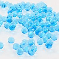 esferas de pistolas venda por atacado-Atacado 7-8mm Multicor Cristal balas 10000 Pcs / pack pistolas de água Pistola Brinquedos Crescendo Bolas de Água de Cristal Mini Rodada Soil Água Beads