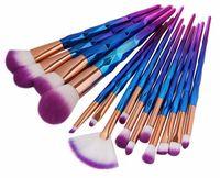 cosméticos maange al por mayor-MAANGE 15Pcs Pinceles de maquillaje de calidad Set Beauty Tool Power Foundation Sombra de ojos Blush Blending Contour Cosmetics Pincel de maquillaje