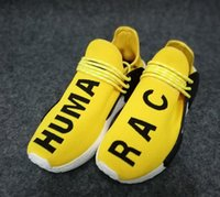 Wholesale Training Bowl - Dropshipping Accepted,Pharrell X Human Race Running Sports Shoes,cheap Men And Women Training Shoes,Casual Walking Sneakers, Runner,