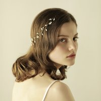 New Bridal Headbands Simple With Pearls Marquise Rhinestones Women Hair Jewelry Wedding Headpieces Bridal Accessories BW-HP814