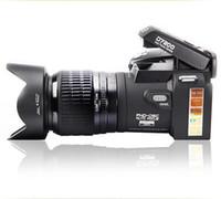 ücretsiz profesyonel video kameralar toptan satış-PROTAX POLO D7200 dijital kamera 33MP FULL HD1080P 24X optik zoom Otomatik odaklama Profesyonel Kamera DHL Ücretsiz