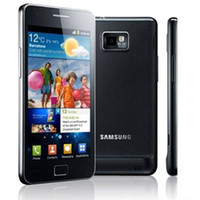 Wholesale original mobile phone batteries - Samsung Galaxy S2 I9100 Unlocked Original Dual Core Refurbished 1G RAM 16G ROM Mobile Phone With Original Battery