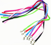 Wholesale free led dog collar for sale - 2018 New Arrival Dog Leashes Cute Nylon Line Leads For Dog Walking Running Leads