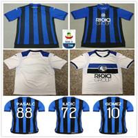 2018 2019 Atalanta Soccer Jersey 8 GOSENS 9 CORNELIUS 10 GOMEZ CRISTANTE  ILICIC PASALC DUVAN Custom Home Blue Atalanta B.C. Football Shirt 94fda0a42