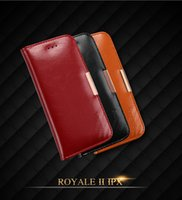 Wholesale note flip retail - KALAIDENG ROYALE II Genuine Leather Wallet Flip Case For iPhone X 8 7 6 5 SE Samsung Galaxy S7 Edge S8 Plus Note Note8 With Retail Package