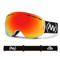 04ac70a600f Top-level ski goggles double layer UV400 anti-fog ski mask glasses skiing  men women snow snowboard goggles