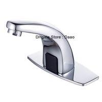 os sensores tocam a água automática venda por atacado-faucet automático do sensor da torneira auto torneira automático do dispenser da água