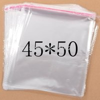 Wholesale Resealable Cellophane Bags - Clear Resealable Cellophane Poly PVC big large Bags 45*50cm Transparent Opp Bag Packing Plastic Bags Self Adhesive Seal 45*50 cm