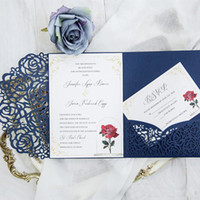Wholesale Red Black Wedding Invitations Buy Cheap Red Black