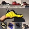 Wholesale Shoe Air Foam - 2017 Mens Basketbll Shoes penny hardaway Metallic Red Air Foam Pro Tech Fleece Island Green Basketball Shoes Out Door breathable Sneakers