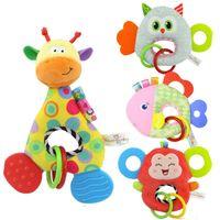 Wholesale monkey newborn - Plush soft toys monkey animal stuffed doll soft plush toy newborn baby kids infant toy kids gifts