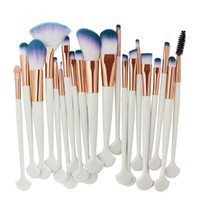 Wholesale essential makeup tools for sale - MAANGE Shell Makeup Brushes Set Foundation Powder Eye Shadow Eyebrow Lip Brush Blending Make Up Brushes Tools Beauty Essentials