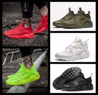 Wholesale Tassel For Shoe Laces - 2017 New Design Air Huarache 4 IV Running Shoes For Women Men, Lightweight Huaraches Sneakers Athletic Sport Outdoor Huarache Shoes 36-46