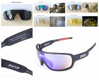 O novo poc polarizada 8 cores óculos de sol 3 lente polarizada óculos de  sol para homens mulheres esporte ciclismo bicicleta eyewear correndo tr90  óculos de ... 920c1ea126