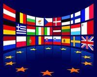 Wholesale wholesale baseball armbands - European Union All countries national flag badge, national flag magic stick embroidery cloth logo, armband badge.