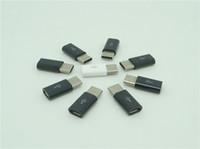 c n1 adaptateur achat en gros de-Micro USB Femme Mâle à USB 3.1 Type C Connecteur Convertisseur Chargeur Adaptateur Pour Huawei MacBook oneplus 2 Xiaomi Nokia N1 500pcs