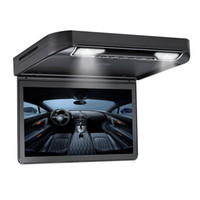 Wholesale german mount - 13.3 inch Roof mount Car DVD Player 1080P HDMI USB SD FM IR Game Flip Down