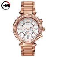 кросс часы женщина оптовых-Часы для леди женщины бизнес МК часы календарь стали самым надежным онлайн розовое золото Оптовая трансграничной смотреть