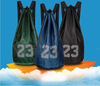 saco dos carregadores do futebol venda por atacado-Atacado Varejo Barato Venda Quente de Basquete Treino Mochila Saco de Malha Sapatos de Futebol Botas de Futebol Sacos de Esportes de Bolso Saco de Ginásio Livre grátis