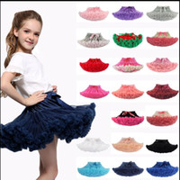 Wholesale ball ballet online - 27 design Baby Girl Princess Party Ballet Dancewear Tutu Skirt Dress tutu costumes cute Dress KKA5768