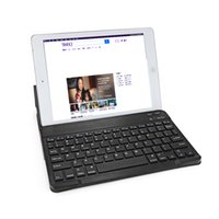 Wholesale tablet case keyboard for 9.7 inch resale online - BH020 BH030C inch Mini Wireless Bluetooth Keyboard Touchpad Key Tablet PC Keyboard Case Leather Cover for Android