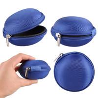 Wholesale zipper headphones sale for sale - Group buy Hot Sale Zipper Bag Earphone Cable Mini Box SD Card Portable Coin Purse Headphone Key Bag Carrying Pouch Pocket Case Cover Storage