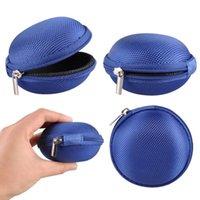 ingrosso vendita delle cuffie della chiusura lampo-Vendita calda Zipper Bag Auricolare Cavo Mini Box SD Card Portamonete Portamonete Portachiavi Portamonete Custodia da tasca
