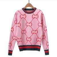 милые розовые свитера оптовых-Женская зима Свитера с длинным рукавом Vintage Женские трикотажные пуловеры высокого качества Симпатичные розовые свитера Элегантный вязать свитер