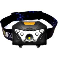 Wholesale usb charging headlamp for sale - Group buy Fashionable Outdoor Night Running Headlamp USB Charging Induction Headlight LED Strong Light Fishing Headlamps Hot Sale lh X