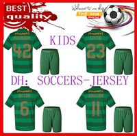 Wholesale Celtic Kits - 17 18 Celtic FC kids Soccer Jersey 2017 2018 Celtic Children kit Griffiths dembele Sinclair Rogic McGregor Roberts Forrest Jersey