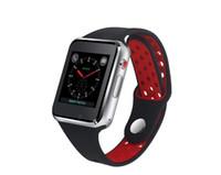 ingrosso telefono mobile orologio android-Orologio astuto del polso astuto caldo M3 con il touch screen LCD a 1.54 pollici per il telefono cellulare intelligente di SIM astuto della vigilanza di Android con il pacchetto al minuto