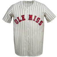 Wholesale xxxl for men online - Ole Miss Rebels University of Mississippi Home Baseball Jersey Double Stiched Name Number Logos For Men Women Youth Customizable