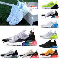 big sale 5bad9 b4434 Nike Air Max 270 air max 270 airmax 270 vendita calda campione francese 2  stelle 270 all ingrosso Mens Air Flair Triple Nero AH8050 Trainer Sport  Running ...